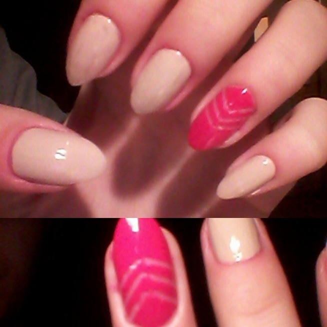 Użyte lakiery: gelly hi shine nail paint barry M Lychee Dor 60/2