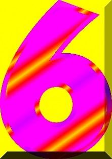Numerologia - liczba sześć - sprawdź na blogu co to oznacza...