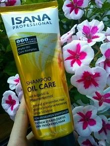 ISANA szampon oil care * wlosy suche i zniszczone
