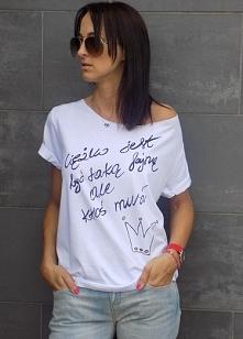 zapraszam do mojego butiku  z ręcznie malowanymi koszulkami