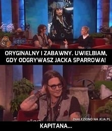 Johnny Depp/ Jack Sparrow