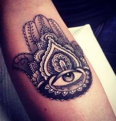 Tatuaż Ręka Fatimy Na Tattoo Zszywkapl