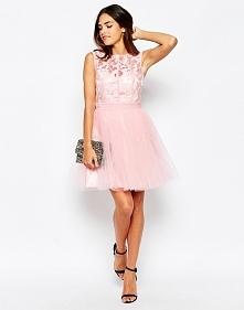 Wieczorowa sukienka na sylwestra, różowa