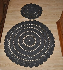 Dywaniki ze sznurka bawełnianego