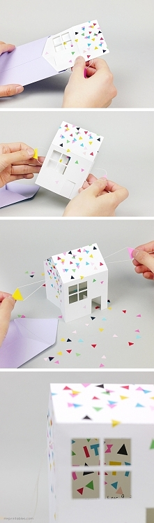 ••Pop-up House Party Invitation