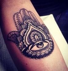 tatuaż ręka Fatimy