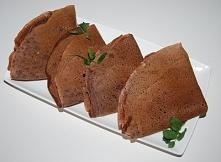 czekoladowe naleśniki z serem