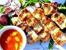 Pikantne wieprzowe szaszlyki w marynacie kimchi