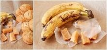bananowe muffiny z krówkami
