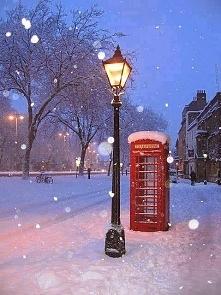 Londyn zimą (:
