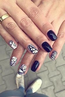 WE ❤ NAILS  Na paznokciach lakiery hybrydowe SPN Nails.  Nails by salon La première