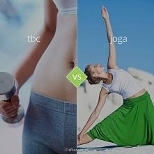 TBC vs Joga ❤️  Spalanie i wytrzymałość kontra spokój ducha i rozciąganie!  ✔️ TBC przyspiesza metabolizm a joga go reguluje  ✔️ TBC spala tkankę tłuszczową i modeluje sylwetkę...