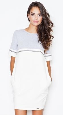 Dresowa sukienka wykonana z bawełny. Model M400 Kliknij w zdjęcie i przejdź do sklepu