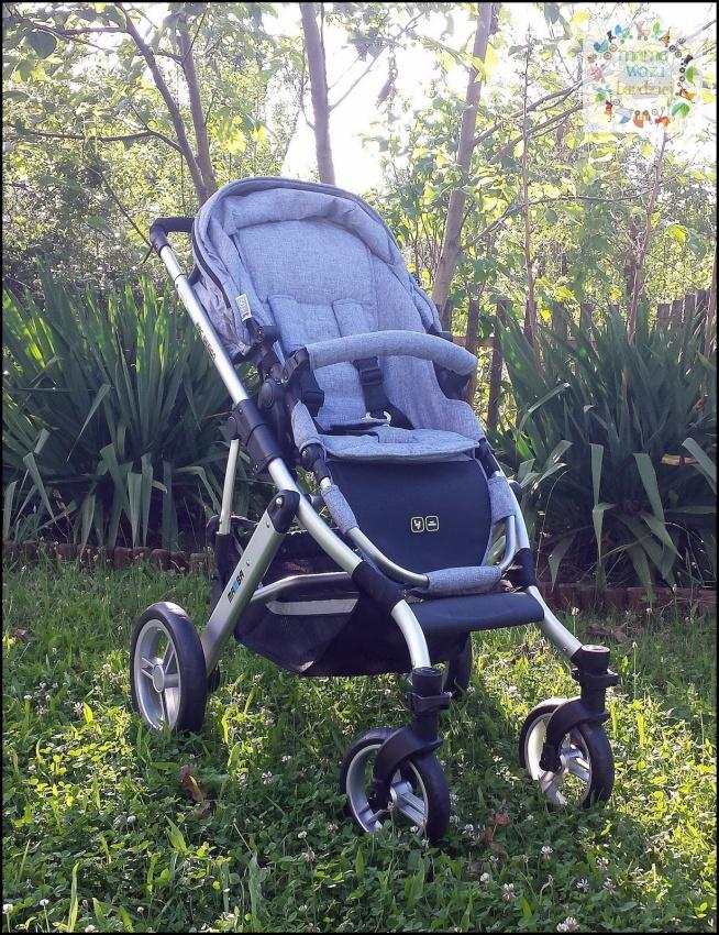 Przedstawiamy recenzję wózka Mamba :)