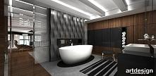 otwarta łazienka w nowoczesnym apartamencie | VISIBLY ASSURED (II)