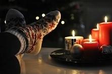 święta, ciepłe skarpety ♡