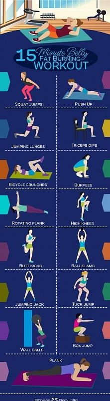 15 minutowe ćwiczenia :)
