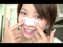 Make Your Own Pore Strips -maseczka na wągry