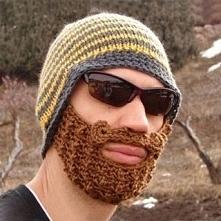 Czapka z brodą :)