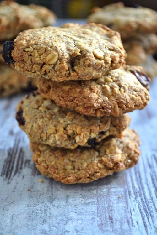 Rewelacyjne ciasteczka owsiane bez cukru, nie tylko dla diabetyków :-).