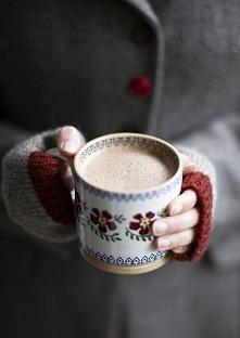 Nic tak nie rozgrzewa w chłodne jesienne dni jak ciepłe kakao <3