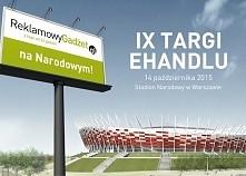 Najszybsze gadżety na Stadionie Narodowym już 14 października!