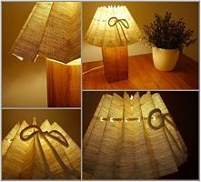 Lampka nocna, wykonana ręcz...