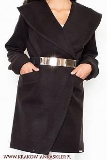 elegancki jesienny płaszcz ...