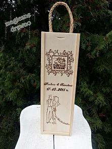 Prezent ślubny - pudełko na...
