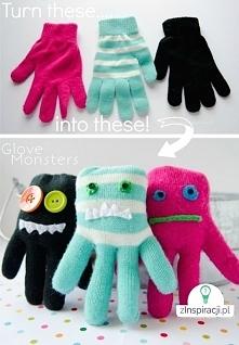 Ciekawe rękawiczkowe potworki!