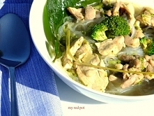 kurczakowo brokulowe curry