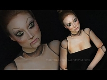 Doll - Hallowenowy make-up<3