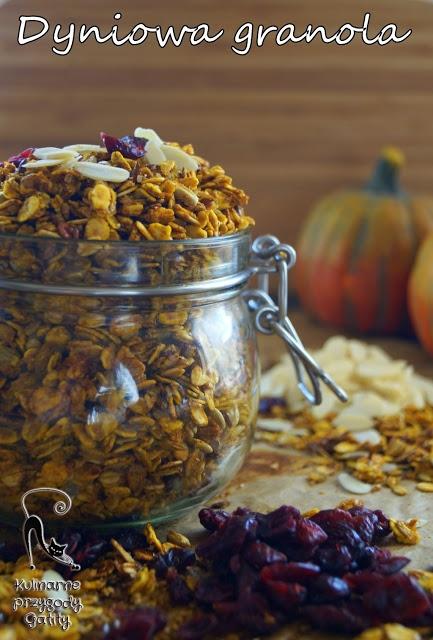 Dyniowa granola, musli