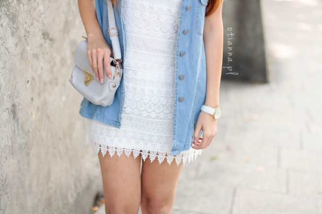 96df5e581a sukienka biała koronkowa mini hm na OTIANNA - kolejna fajna blogerka ...