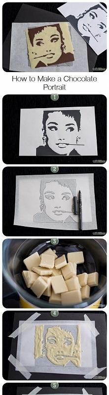 czekoladowy portret