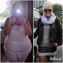 ogromne brawa dla tej Pani! -40kg w rok. niesmowite! *-* ;oo