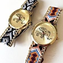 Zegarki słonik pleciona bransoletka od SIgnora.pl | KLIK w zdjęcie