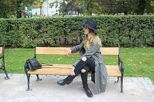 ZAPRASZAM NA MOJEGO BLOGA kochambanany.blogspot.com #fashion #model #streetlook