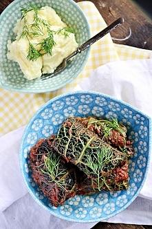 Gołąbki z kaszą jaglaną i mięsem - łatwe i zdrowe