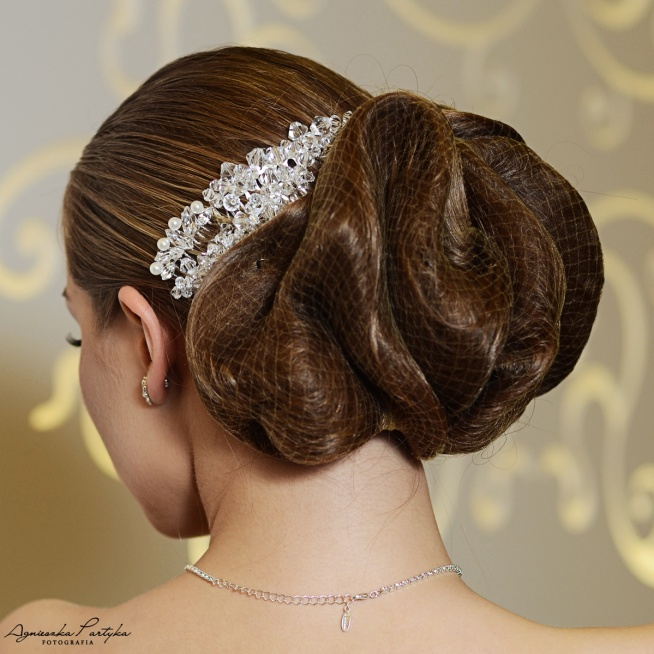 Ślubne ozdoby do włosów z kryształami Swarovski z kolekcji Decoris & Art