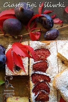 Ciasto z figami i sliwkami