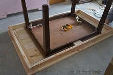 jak zrobić duży stół z małe...