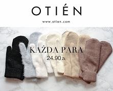 Śliczne rękawiczki 24.90! w sklepie OTIEN
