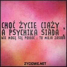 To moja zasada!!!
