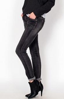 Dajena jeansy szare Oryginalne spodnie jeansowe, ciekawy odcień szarości, efe...
