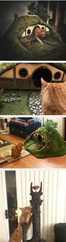 Domek dla kota :D W stylu : Władca Pierścieni ^^