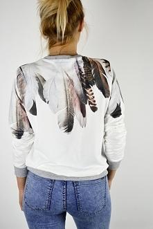 Modna bluza z printem