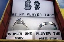 Super Mario Wedding Proposal