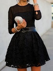 Sprzedam piękną sukienkę rozm. 38 zainteresowani zapraszam na wyprzedaż z szafy (link poniżej)