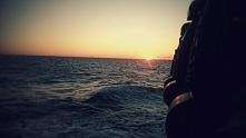 Rejs statkiem na zachód słońca. Wspaniałe wspomnienie lata. Ustka2015. Fotogr...